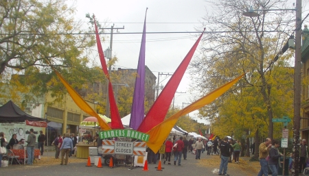 Ballard Farmers Market in October 2008.  Photo copyright 2008 by Zachary D. Lyons
