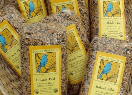 Bluebird Grain Farms' Potlatch Pilaf. Photo copyright 2009 by Zachary D. Lyons.