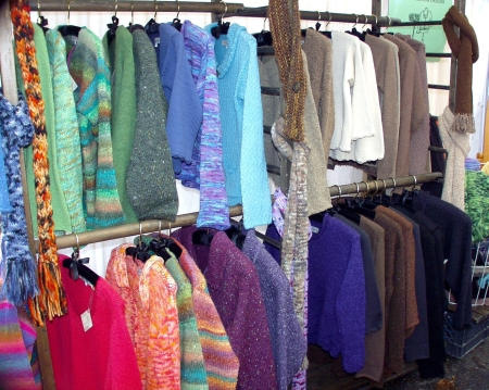 Handmade garments from Suzanne de la Torre. Photo copyright 2009 by Zachary D. Lyons.