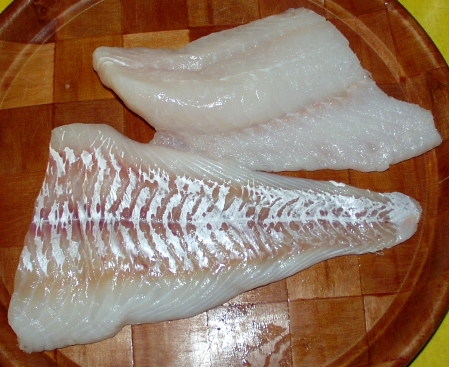 Fresh Washington true cod from Wilson Fish. Photo copyright 2010 by Zachary D. Lyons.