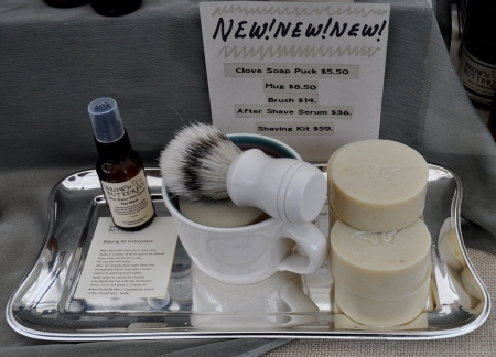 Shaving kit from Brown & Butterfly. Photo copyright 2010 by Zachary D. Lyons.