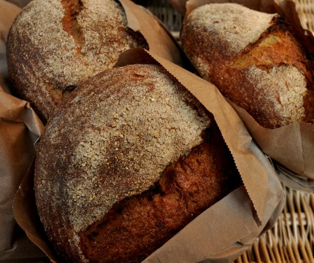 Hominy bread from Tall Grass Bakery. Photo copyright 2011 by Zachary D. Lyons.
