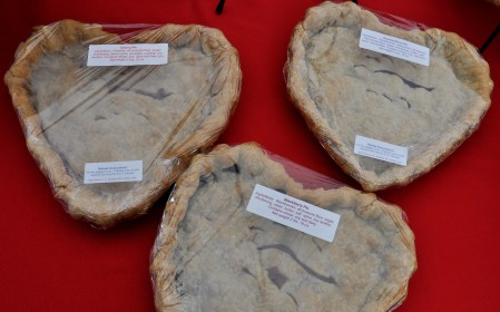 Mothers Day pies from Deborah's Homemade Pies. Photo copyright 2011 by Zachary D. Lyons.