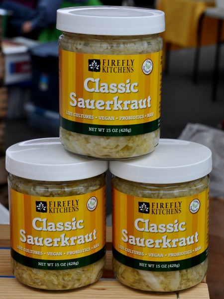Classic sauerkraut from Firefly Kitchens. Photo copyright 2011 by Zachary D. Lyons.