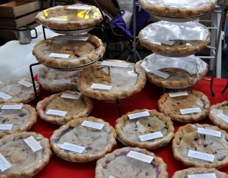 Lotsa pies from Deborah's Homemade Pies. Photo copyright 2011 by Zachary D. Lyons.