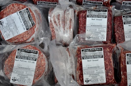 Ground beef from Skagit River Ranch. Photo copyright 2012 by Zachary D. Lyons.