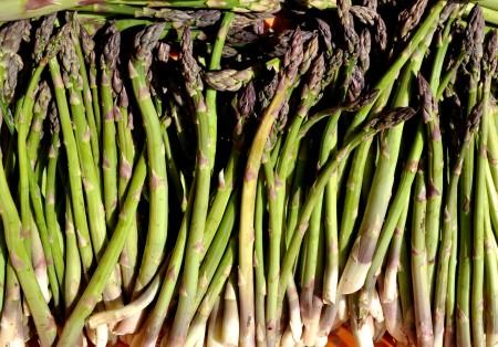 Asparagus from Magana Farms. Photo copyright 2012 by Zachary D. Lyons.