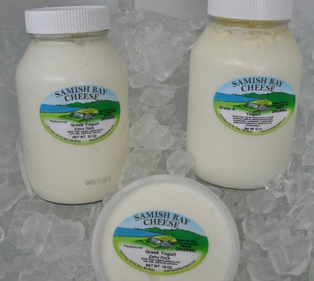 Jersey cow yogurt from Samish Bay Cheese. Photo copyright 2012 by Zachary D. Lyons.