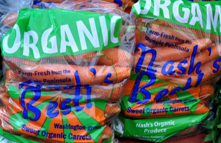Nash's Best Carrots from Nash's Organic Produce. Photo copyright 2012 by Zachary D. Lyons.