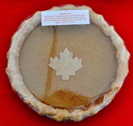 Pumpkin Pie from Deborah's Homemade Pies. Photo copyright 2012 by Zachary D. Lyons.