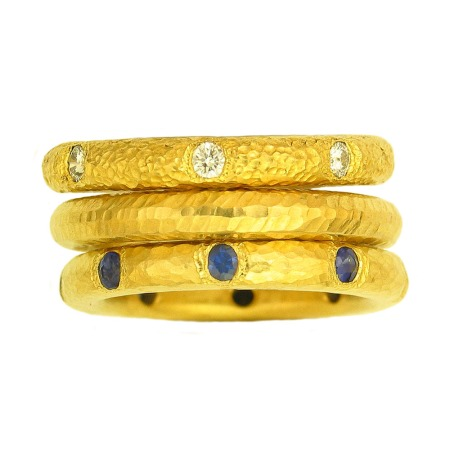 Sunshine rings from Itali Lambertini. Photo copyright 2012 by Zachary D. Lyons.