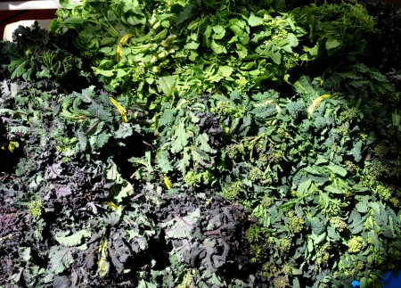 Kale Raabs from Nash's Organic Produce. Photo copyright 2013 by Zachary D. Lyons.
