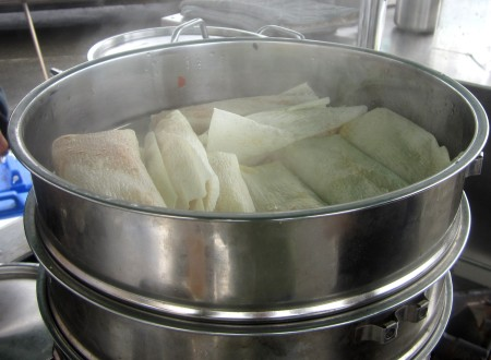 Roasted root vegetable with queso fresco tamales from Patty Pan Grill. Photo courtesy Patty Pan Grill.