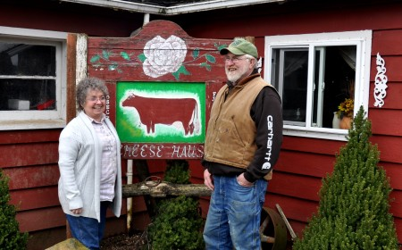 Sharon & Gary McCool from Rosecrest Farm. Photo copyright 2013 by Zachary D. Lyons.