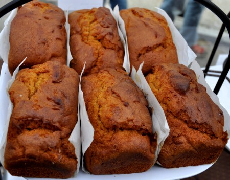 Pumpkin bread from nuflours gluten-free bakery. Photo copyright 2013 by Zachary D. Lyons.