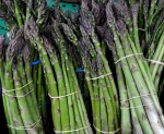 First of the year asparagus from Lyall Farms. Photo copyright by Zachary D. Lyons.