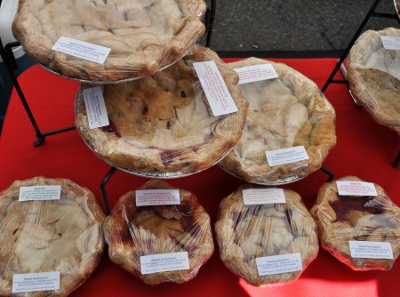 A variety of pies from Deborah's Homemade Pies. Photo copyright 2013 by Zachary D. Lyons.