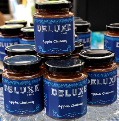 Apple chutney from Deluxe Foods. Photo copyright 2013 by Zachary D. Lyons.