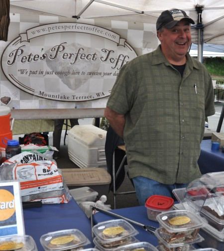 """The """"Pete"""" of Pete's Perfect Toffee. Photo copyright 2013 by Zachary D. Lyons."""