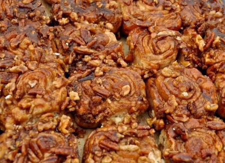 Sticky buns from Tall Grass Bakery. Photo copyright 2013 by Zachary D. Lyons.