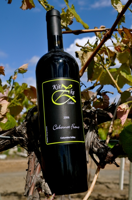 Cabernet Franc from Kitzke Cellars. Photo courtesy Kitzke Cellars.