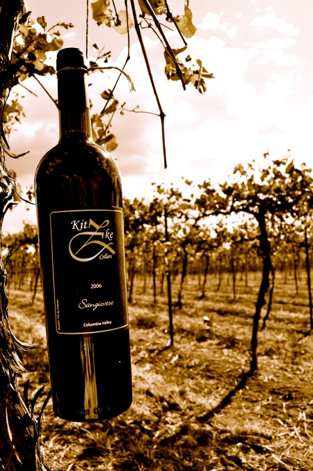 Sangiovese from Kitzke Cellars. Photo copyright 2013 by Zachary D. Lyons.
