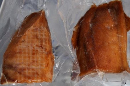 Honey Smoked Albacore from Fishing Vessel St. Jude. Photo copyright 2013 by Zachary D. Lyons.