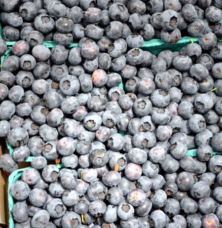 Blueberries from Hayton Farms at Ballard Farmers Market. Copyright Zachary D. Lyons.