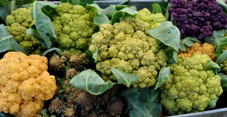 Cauliflower from Growing Things Farms. Photo copyright 2013 by Zachary D. Lyons.