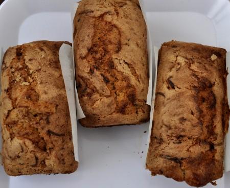 Cardamom Zucchini Sweet Bread from NuFlours gluten-free bakery. Photo copyright 2013 by Zachary D. Lyons.