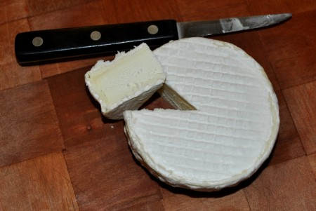 Experimental brie from Port Madison Farm. Photo copyright 2013 by Zachary D. Lyons.