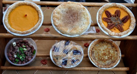 Pies and more from Simply Soulful. Photo copyright 2013 by Zachary D. Lyons.