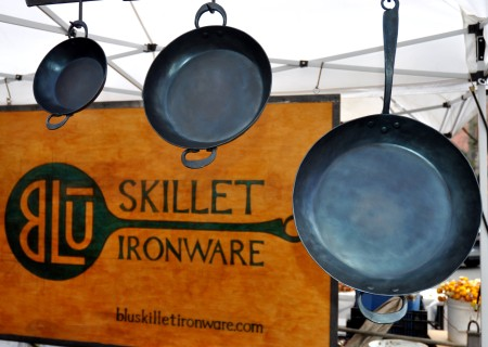 Paella and casserole pans from BluSkillet. Photo copyright 2013 by Zachary D. Lyons.
