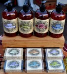 Goat milk soaps from The Fay Farm. Copyright Zachary D. Lyons.