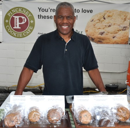 Michael Pinckney from Pinckney Cookies. Photo copyright 2013 by Zachary D. Lyons.