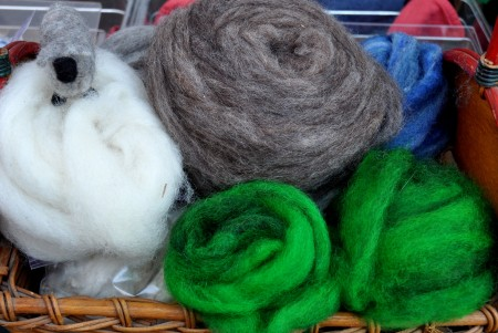 Wool from Glendale Shepherd. Photo copyright 2014 by Zachary D. Lyons.