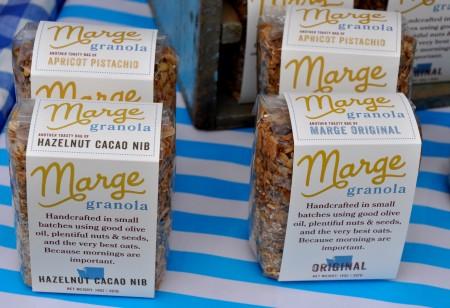 Local granola from Marge Granola. Photo copyright 2013 by Zachary D. Lyons.