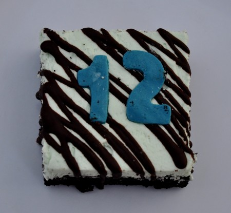 The 12th Brownie from Nuflours Gluten-Free Bakeryat Ballard Farmers Market. Copyright Zachary D. Lyons.