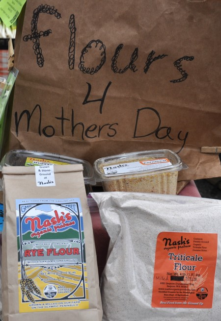 Mother's Day display at Nash's Organic Produce. Photo copyright 2014 by Zachary D., Lyons.