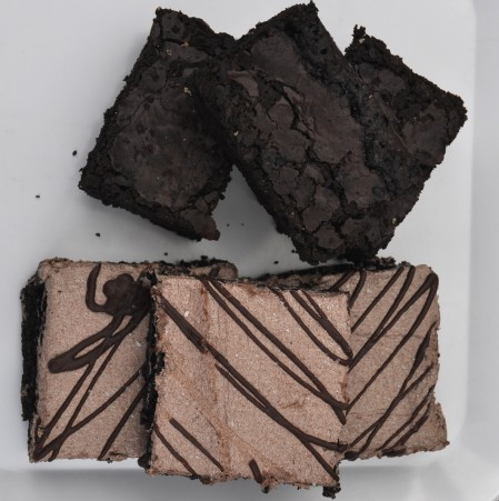 Heavenly Brownies from Nuflours Bakery.