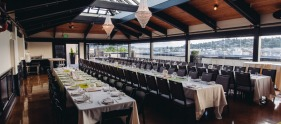 The stunning Olympic Rooftop Pavilion offers unrivaled views of Historic Ballard and the surrounding area from five stories up! Photo courtesy Stoneburner Restaurant.