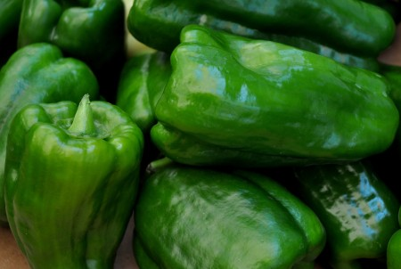 Bell peppers from Colinwood Farm. Photo copyright 2014 by Zachary D. Lyons.