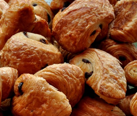 Pain au Chocolat from Snohomish Bakery. Photo copyright 2014 by Zachary D. Lyons.