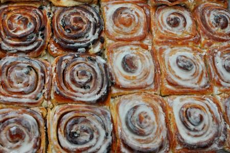 Cinnamon rolls from Tall Grass Bakery. Copyright Zachary D. Lyons.
