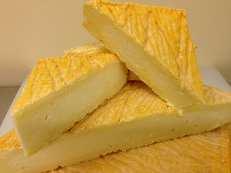 Soft-ripened Tallulah cheese from Glendale Shepherd. Photo courtesy Glendale Shepherd.