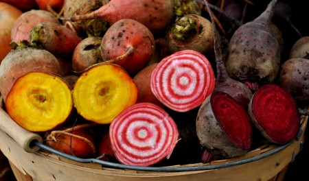 Beets from Kirsop Farm at Ballard Farmers Market. Copyright Zachary D. Lyons.