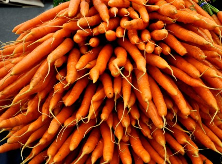 Carrots from Kirsop Farm at Ballard Farmers Market. Copyright Zachary D. Lyons.
