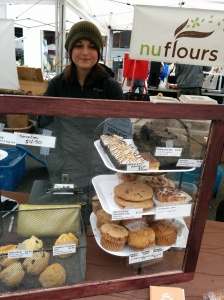 Nuflours is a 100% gluten-free bakery.   We are proud to say Nuflours started out at Ballard Farmers Market.